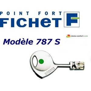 Reproduction de clé Fichet de type 787 S FICHET-FI787S-