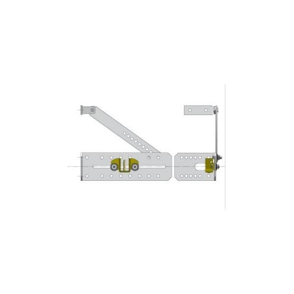 Support complet  pour embout ZF somfy-SY9127861-Somfy