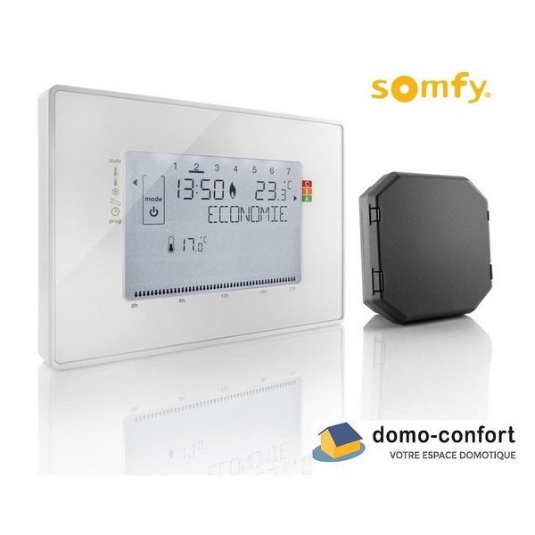thermostat somfy leroy merlin trendy thermostat sans fil otio thermom tre hygrom tre int rieur. Black Bedroom Furniture Sets. Home Design Ideas