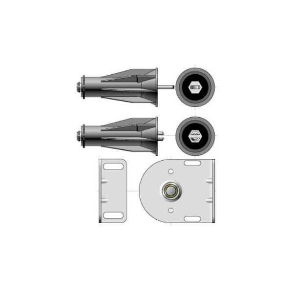 Embout palier intermédiaire pour tube 50 SOMFY-SY9410654-Somfy