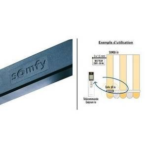 Capteur vent Eolis 3D Wirefree io Noir Somfy-SY9016354-Somfy