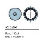 Adaptateur série NEOXL diam 85mm rond 130*3 roue+couronne NICE