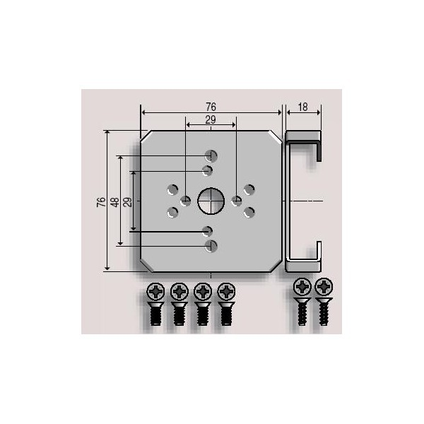 Support LS40 Modulo somfy-SY9500618-Somfy