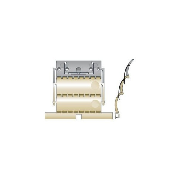Attache rigide clicksur 2 maillons lame 14mm SOMFY-SY9012488-Somfy
