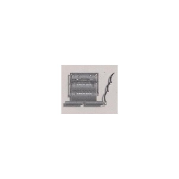 Attache rigide ZF 2 maillons lame 8 mm SOMFY REMPLACE PAR SY9012485-SY9410795-Somfy