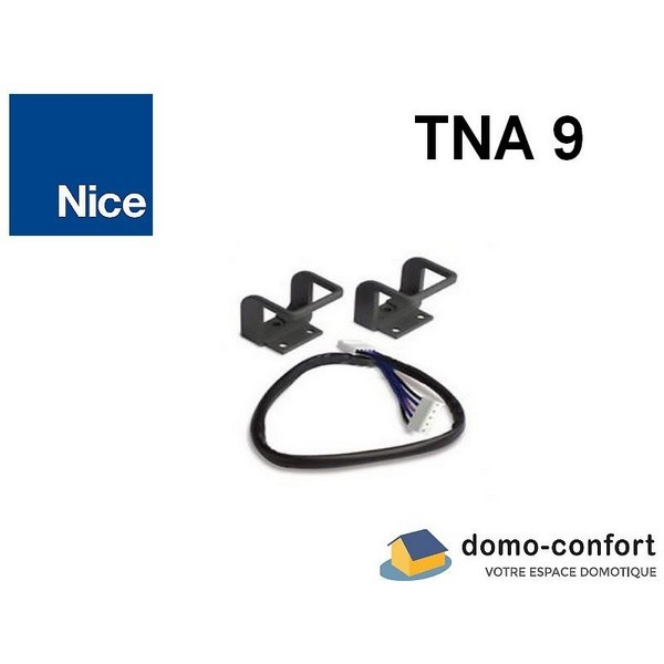 Câble additionnel + supports  fixation extérieure de la batterie PS324  NICE-NITNA9-Nice
