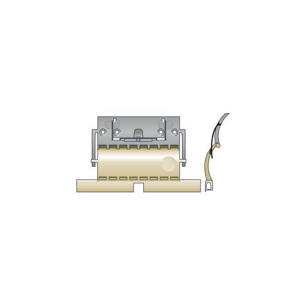 Attache rigide clicksur 1 maillon lame 8mm SOMFY-SY9012484-Somfy