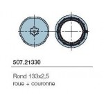 Adaptateur série NEOXL diam 85mm rond 133*2.5 roue+couronne NICE