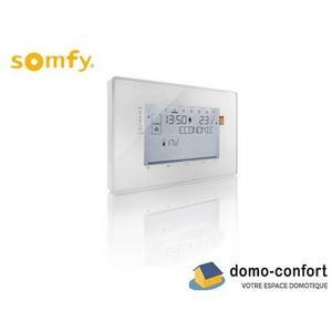 Thermostat programmable filaire - contact sec - compatible TaHoma SOMFY-SY2401243-