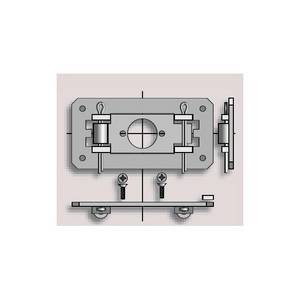 Plaque point fixe LS40 somfy-SY9500815-Somfy