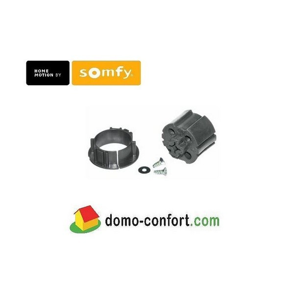 Roue et couronne Shangri-La 38 mm pour moteur Roll Up Wirefree somfy-SY9013486-Somfy