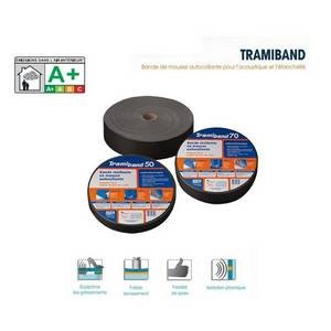 TRAMIBAND, bande mousse acoustique plancher, rouleau 30m, larg 70/ 3 mm TRAMICO-TR2936230000-Tramico