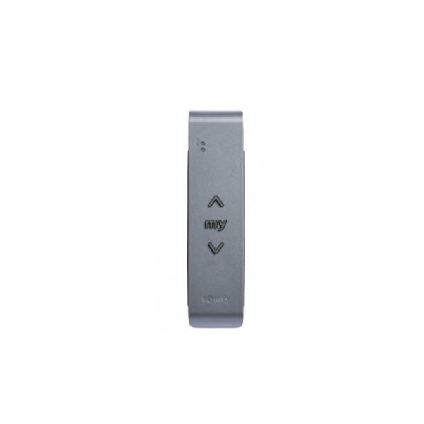Télécommande murale SITUO IO TITANE (gris anthracite) - 1 canal - SOMFY remplacé par SY1800463-SY1800464-Somfy