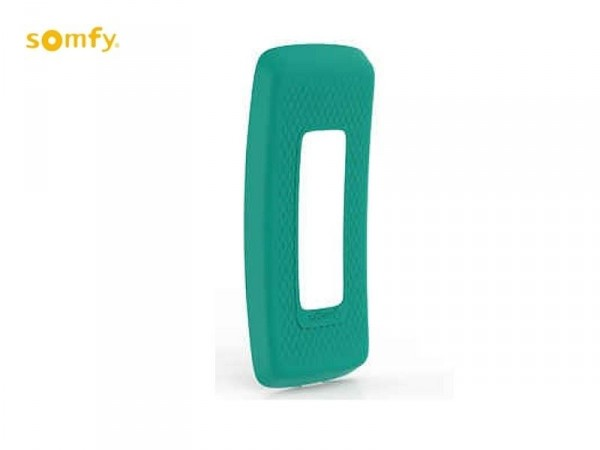 Coque verte / turquoise pour Télécommande  Nina IO Group - Somfy --SY9019828-Somfy