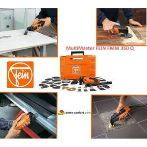 MultiMaster FEIN version TOP FMM 350 Q, machine oscillante 350 W FEIN-FE72294261000-Fein