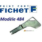 Reproduction de clé Fichet de type 484 FICHET