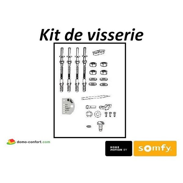 Sachet d'accessoires FREEVIA 600 - LS 430 Somfy-SY9017240-Somfy